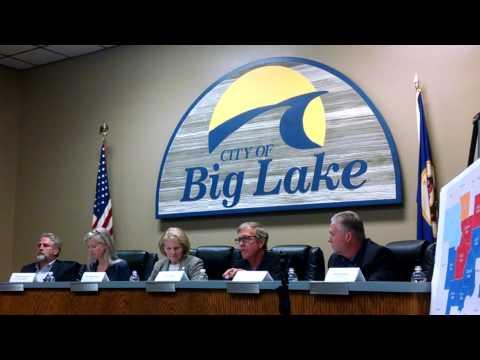 Big Lake Broadband Mtg: George Wallin – IT career, teacher and representing Sherband