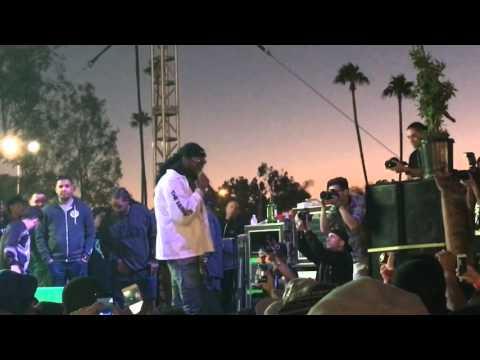 El Chapo Jr 2 Chainz live at Cannabis Cup 2016