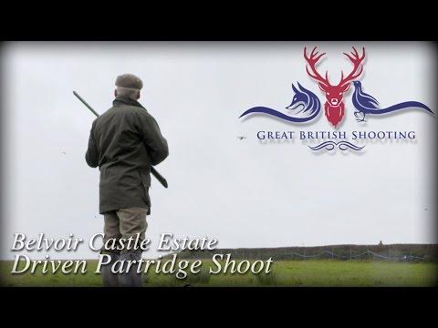 Belvoir Castle Estate Driven Partridge Shoot