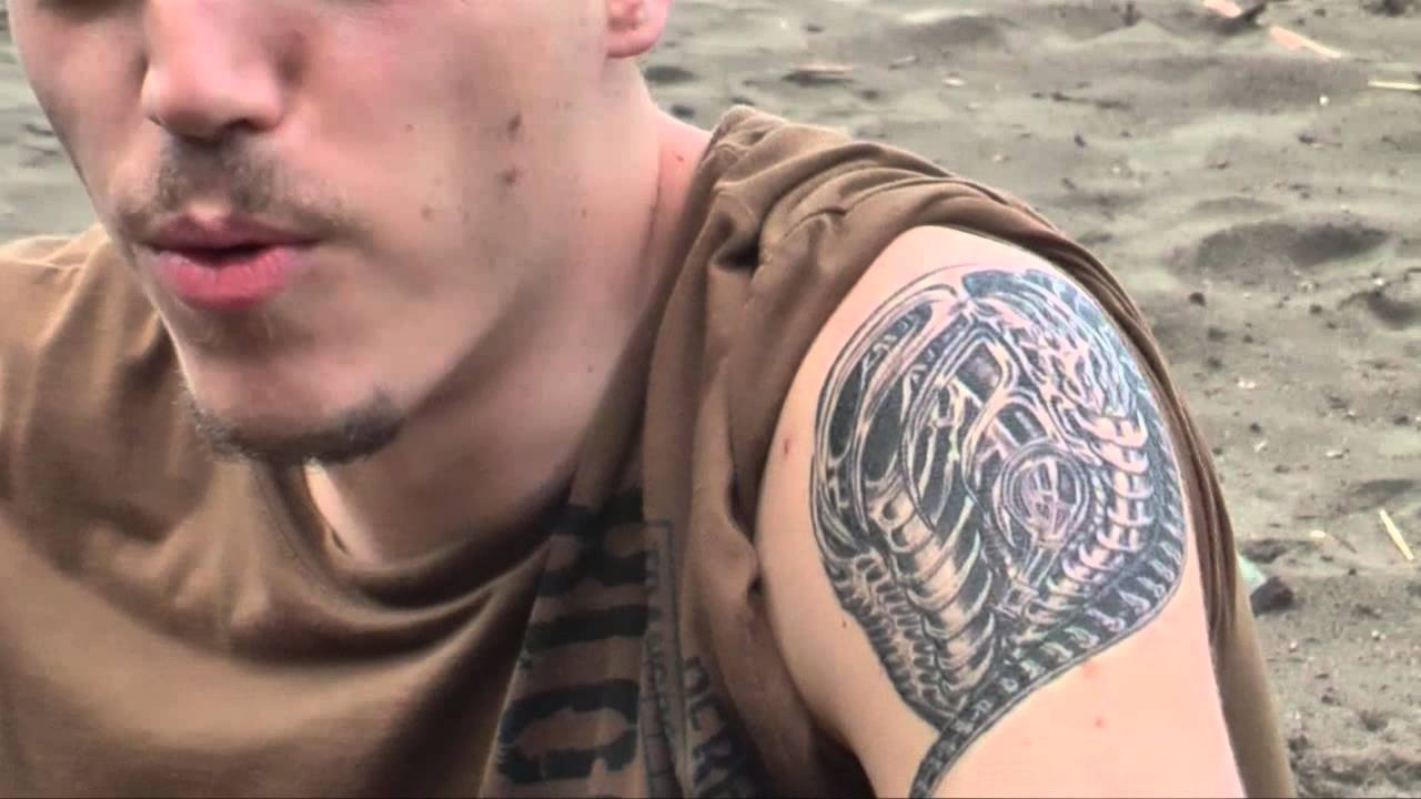 Hr giger tattoo designs - Hr Giger Tattoo Designs 45
