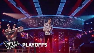 """Playoffs #TeamMontaner - Tomás canta """"Darte un beso"""" de Pri..."""