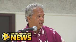 OHA: Edward Halealoha Ayau On Mauna Kea Access Road (Sept. 19, 2019)