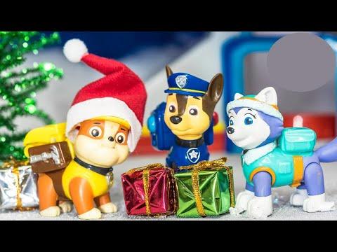 PAW PATROL Nickelodeon Paw Patrol Stolen Presents With Blaze Toys Video Parody