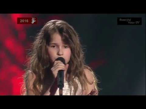 Adele-'Hello'. Maria. The Voice Kids Russia 2016.