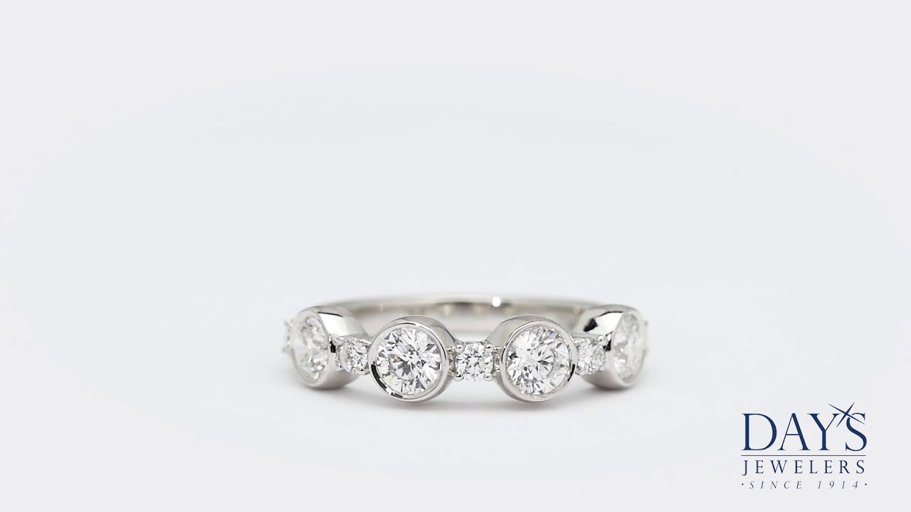 52366436291 Forevermark Tribute Collection Diamond Ring in 18kt White Gold (1 1 5ct tw)