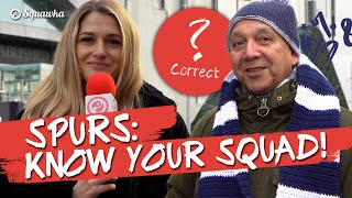 Know Your Squad: 'Son?!' (손흥민) Tottenham fans quizzed