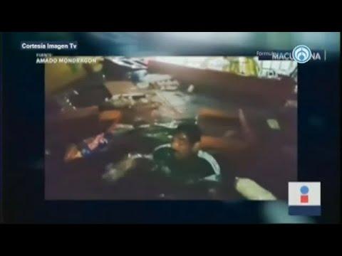 """Inundaciones en Tabasco llegan a 3 metros; """"sólo lo había visto en Titanic"""": damnificado"""