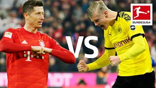 Robert Lewandowski vs. Erling Haaland | Record-Breaking Strikers go Head to Head