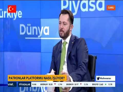 """Patronlar Platformu Genel Başkanı Abdullah Küçükoğlu Canlı Yayın Tvnet """"Kahve Arasi"""" 05 Mart 2018"""