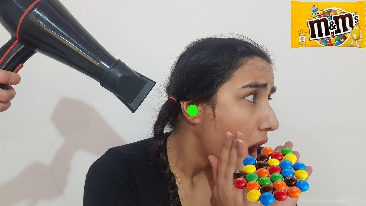 Kulağımda Şeker Var حلاوة تعلقت في أذن ! ! M&M'S STUCK IN EAR
