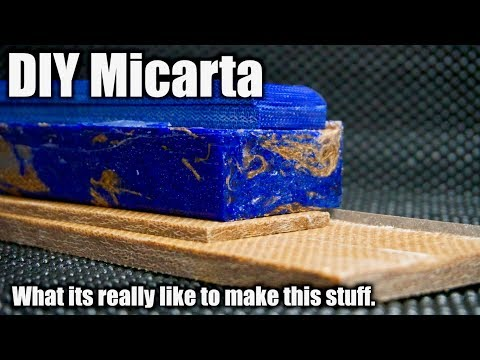 How To Make Micarta | A DIY guide to what its really like to make this stuff