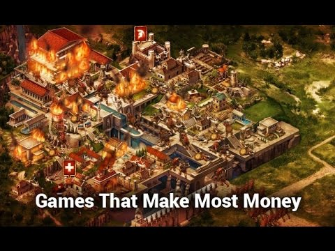 Top 10 Games that Are Making The Most Money on iOS, Upto $1.3Million+