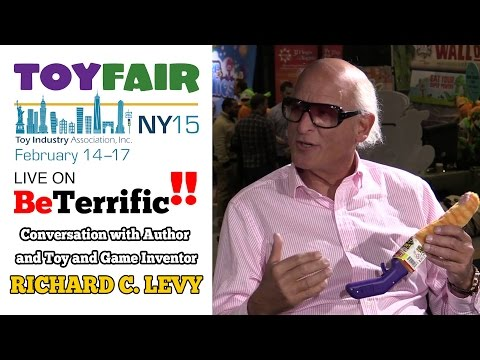 Toy Fair 2015: Conversation with Richard C Levy - Toy and Game Inventor
