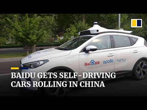 China's automated driving technology speeds ahead with research by search engine giant Baidu