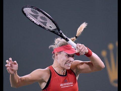 2018 Indian Wells Fourth Round   Angelique Kerber vs. Caroline Garcia   WTA Highlights