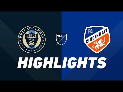 Philadelphia Union vs. FC Cincinnati | HIGHLIGHTS - May 1, 2019