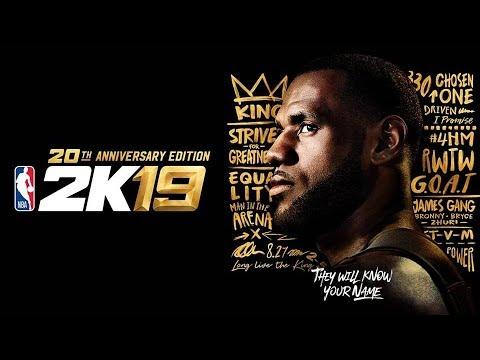 NBA 2K19 OFFICIAL TRAILER LIVE REACTION...