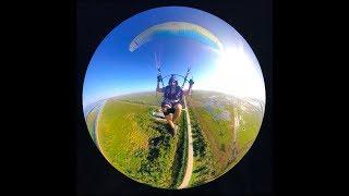 Paramotor - 360 camera talk