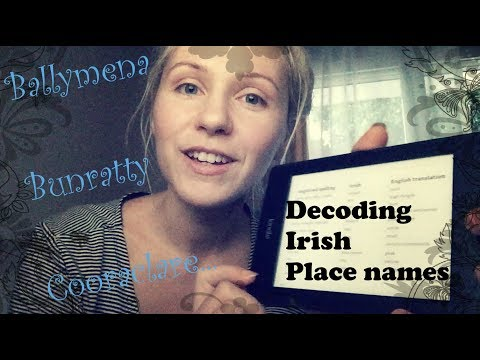 Decoding Irish town names