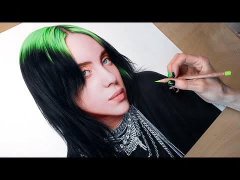 Drawing Billie Eilish