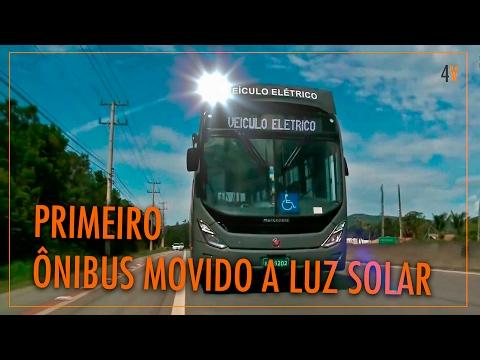 Primeiro Ônibus Fotovoltaico Brasileiro