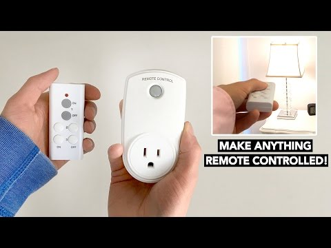Remote Control Outlet Switch UNDER $10 - Lights, Fans & more!