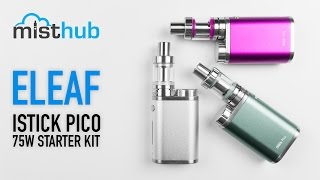 Eleaf iStick Pico 75W TC Starter Kit Video