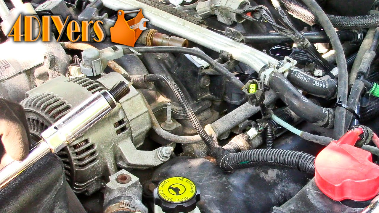 DIY Dodge 47L V8 Spark Plug Replacement YouTube – Dodge Dakota 4.7 Engine Diagram