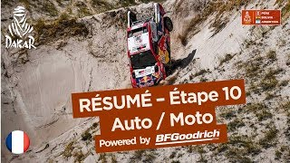 Résumé - Auto/Moto - Étape 10 (Salta / Belén) - Dakar 2018