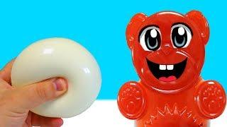 Lucky Bär zeigt wie man Nicht Newtonsche Flüssigkeit selber macht