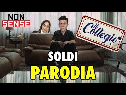 SOLDI PARODIA COLLEGIO - MAHMOOD - CANZONE MARILU (Prod. Steve)