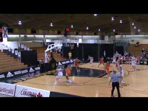 Dalhousie University Tigers vs Cape Breton University Capers - January 8th 2011