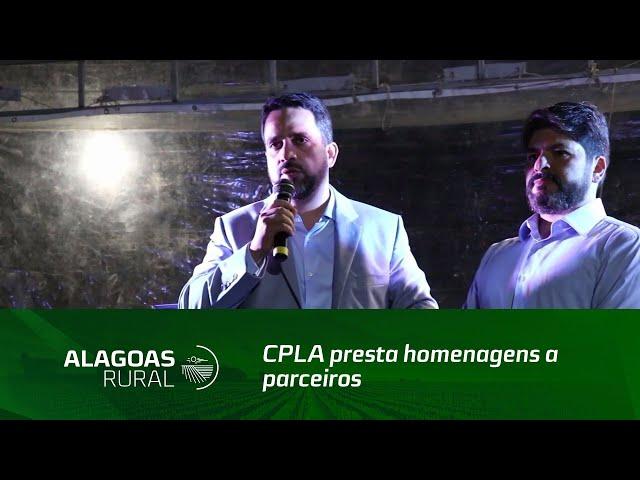 CPLA presta homenagens a parceiros da agricultura familiar de Alagoas