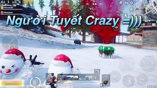PUBG Mobile | Khi Người Tuyết Đi Troll Boom Nhảy + Bóng Tuyết Gặp Phải Thánh Chui Hốc Né Dame 😆