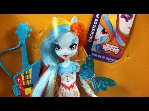 Rainbow Dash z Akcesoriami -  Rainbow Rocks - Equestria Girls - My Little Pony - www.MegaDyskont.pl