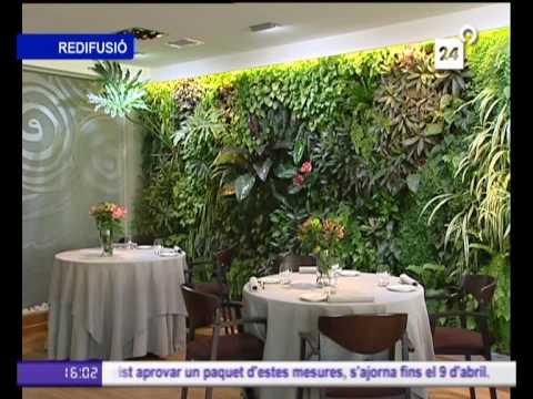 Jardines verticales de paisajismo urbano en canal 9 youtube for Paisajismo urbano