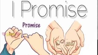 I Promise... | Love Thought | Lyrics - WhatsApp Stickers Video 30 Sec.