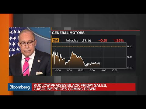 Kudlow Says White House 'Angry, Disappointed' About GM Layoffs