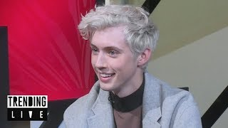 Troye Sivan admits to flirting with Sam Smith | Trending Live