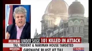Mumbai Terror Attack - Part 2 - Discussion on TIMES NOW - 27 November 2008