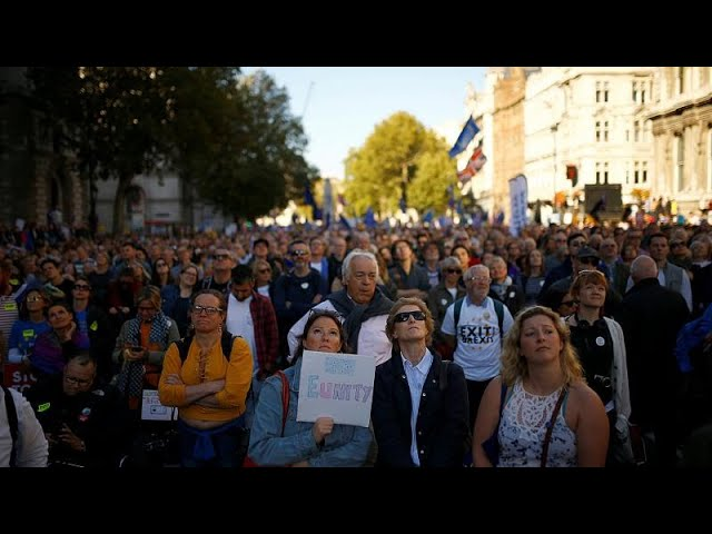 Over 700,000 people march in London