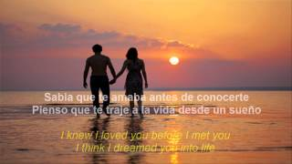 Repeat youtube video Savage Garden - I knew I loved you (subtitulos en Español & English) HD by WarriorMiklo