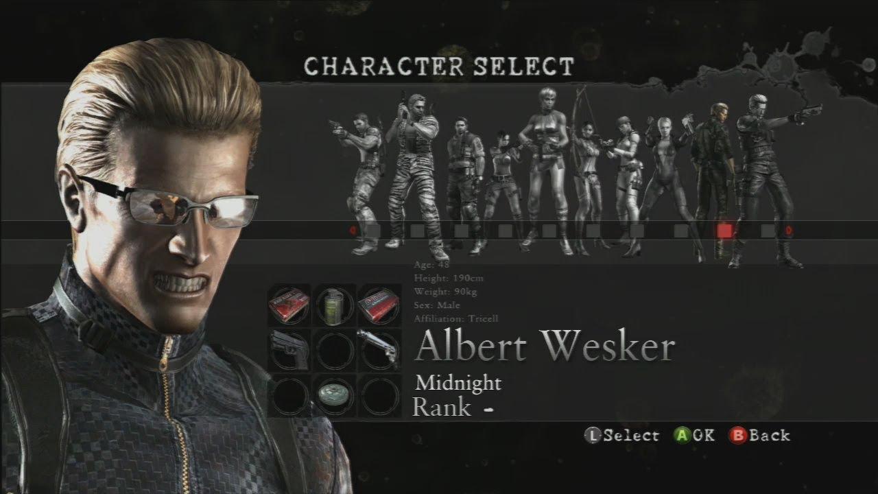 Resident Evil 5 Melee Moves Hq Albert Wesker Youtube