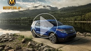 2014 Ford Explorer review - تجربة فورد اكسبلورر - Dubai UAE Car Review by Motopedia.ae