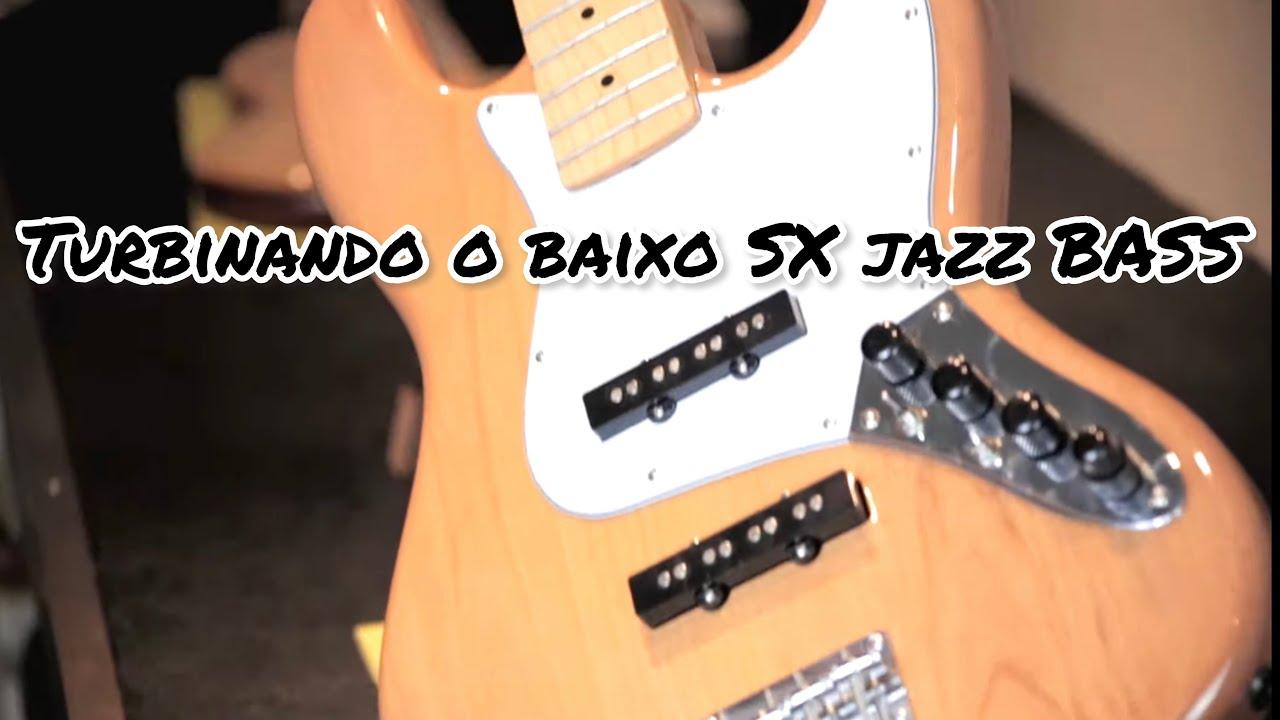 Preamp deOliveira #19 Como TURBINAR o Som do seu BAIXO Jazz Bass SX 4 Cordas