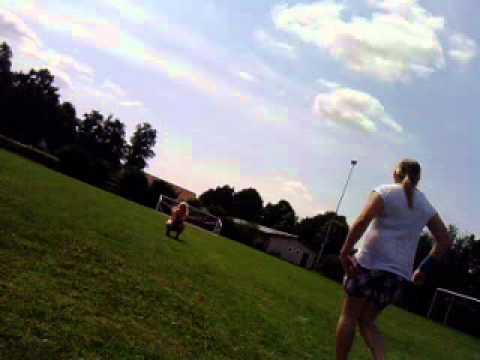 fusball spielen
