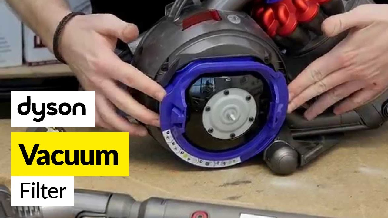 How to replace dyson ball cylinder cleaner filters youtube for Dyson dc39 motor replacement