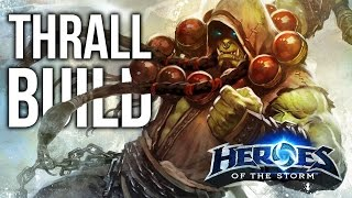 Heroes of the Storm: &quotFROSTWOLF RESILIENCE&quot Thrall Talent Build Guide! (Commentary &amp Gameplay)