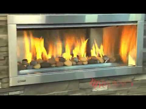 Regency Horizontm Hzo42 Outdoor Modern Gas Fireplace Youtube
