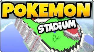 Minecraft Pokemon GO Stadium Skywars - PS3, PS4, Xbox 360, Xbox One, Wii U Edition Gameplay